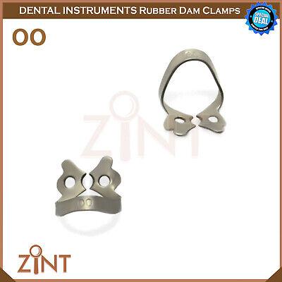 Rubber Dam Universal Clamps Upper & Lower Premolar Anterior Medesy Basic Set New 2