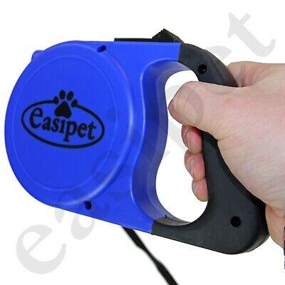Retractable Dog Lead Training Pet Leash 8m Long Max 50kgs Extendable Easipet 7