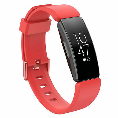 For Fitbit Inspire / Inspire HR Replacement Silicone Wristband Strap Watch Band 11