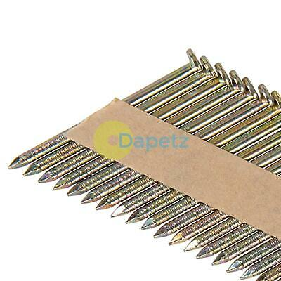 Collated Galvanised Ring Shank Framing Nails 34° 2.9mm x 65mm 200 Pack 5