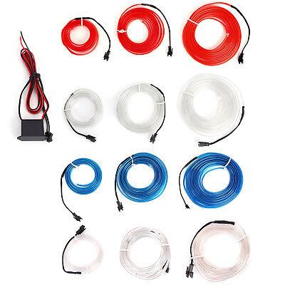 Auto Kein LED EL Ambientebeleuchtung Innenraumbeleuchtung Lichtleiste 1/2/3M