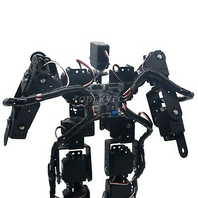 17DOF Humanoid Biped Robotic Educational Robot Kit Servo Bracket Ball Bearing tp 2