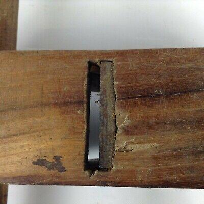 Antiguo Cepillo de Carpintero Mango Manual Schreiner Herramienta Küfer Wagner 7