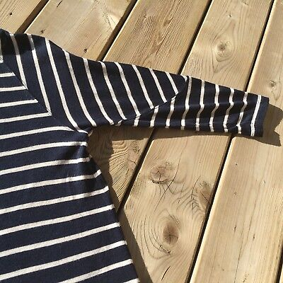 dcae875291b ... Madewell Cointoss Striped T-shirt Dress Nautical Stripes Woman s XS  SOLD OUT 5
