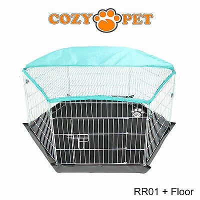 Cozy Pet Rabbit Run Play Pen Guinea Pig Dog Playpen Chicken Puppy Cage Hutch 3