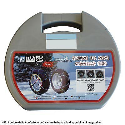 Catene Da Neve 9Mm 265/70 R15 Mitsubishi Pajero Ii [01/1990->12/99] 2