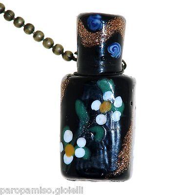 Perfume Scent Glass Bottle Chatelaine Murano, Venezia 19th century  (0377) 4
