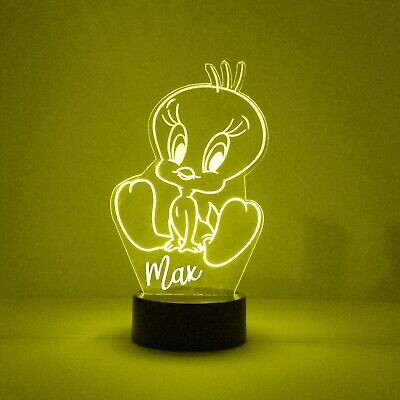 Remote Personalized FREE LED Night Light Lamp Wolverine X-Men Light Up