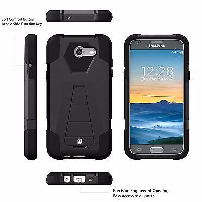 For Samsung Galaxy J7V (2017) J7 Perx J7 Sky Pro J7 Prime Halo Rugged Case Cover 2