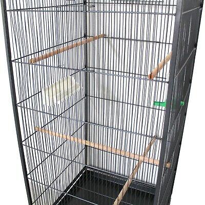 Voliera Gabbia per Uccelli Pappagalli Parrocchetti Gabbie Metallo Vari modelli 10