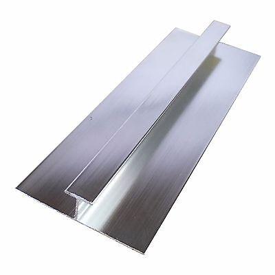 Aluminium Trims For 10mm Shower Wall Panels Bathroom End Cap Corners H Join 2.4m 7