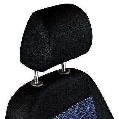 Schwarz-rot Effekt 3D Sitzbezüge für BMW 6er SERIE 6 E24 Autositzbezug VORNE