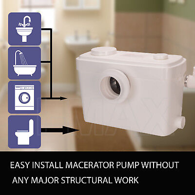 Macerator Sewerage Pump Waste Water Marine Toilet Disposal Unit Laundry Basement 5
