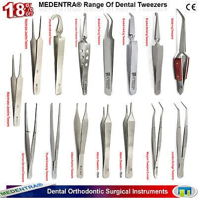 MEDENTRA® Orthodontic Surgical Veterinary Dental Tweezers Bracket Tooth Forceps 2