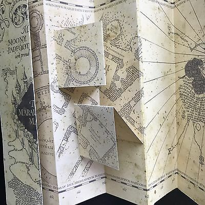 Mappa Del Malandrino Harry Potter Replica 5