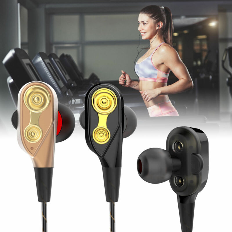 HIFI In-Ear Super Bass Stereo Earphone Earbuds Headphone Sports Headset With Mic 6