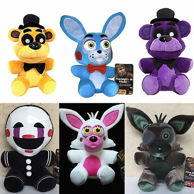 """Five Nights at Freddy's FNAF Horror Game Plush Doll Kids Plushie Toy 4.7"""" 7""""10"""" 5"""