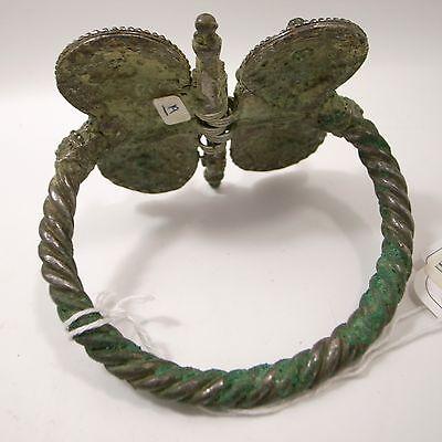 Saljuk Turkish or Middleeastern large silver bracelet 12th century 6