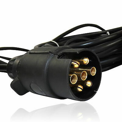 Pré Câblé Remorque Camionnette Remorquage Léger Board Phares+7.5m Câble avec E4 5