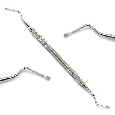 Dental Surgical Lucas Bone Curettes Curettage Cyst Periodontal Set of 4 Sizes CE