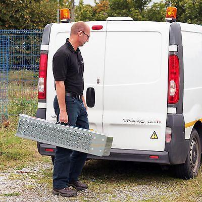 Ramp 1.8M Steel Folding Loading  Trailer Van Motorbike Quad Lawn Mower 6