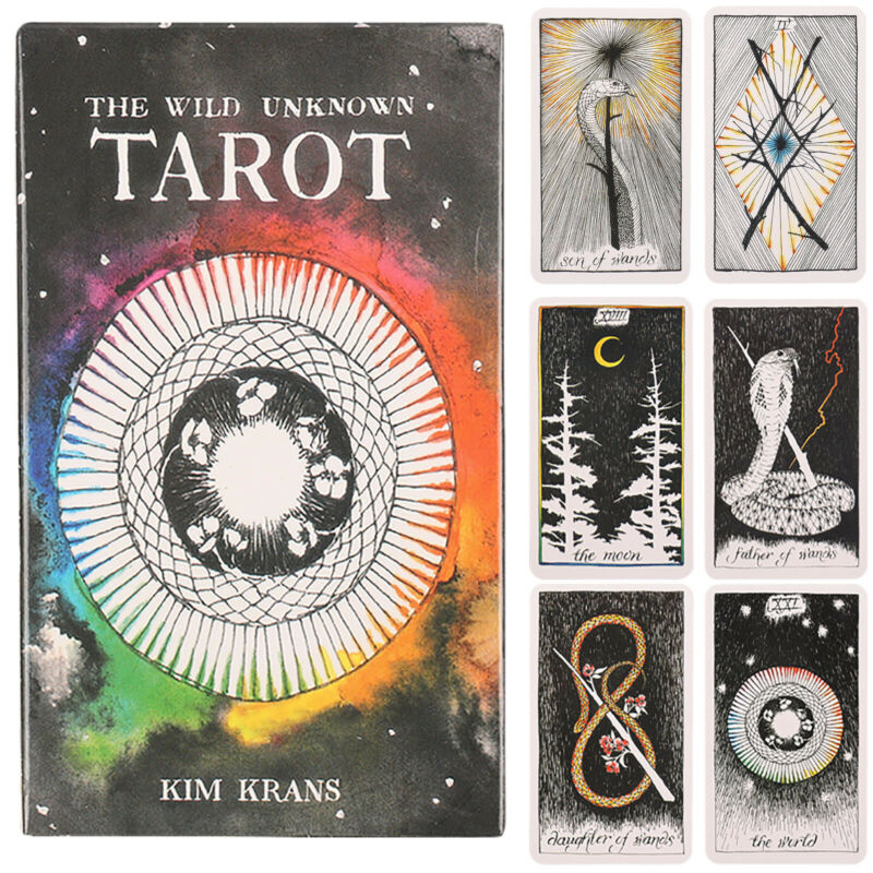 The Wild Unknown Tarot Cards Deck Rider-Waite Oracle Fortune Telling Card Gifts 10