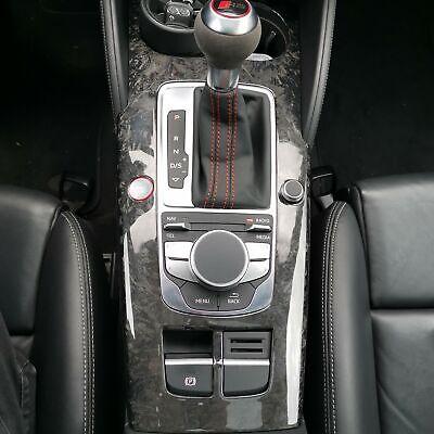 Mittelkonsole Schalttafel Flex Carbon Passend Für Audi A3 RS3 S3 Sline V8