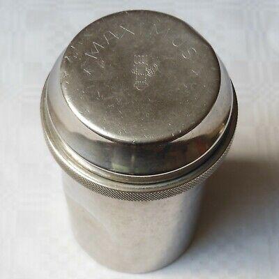 DREI-PFEIL MARKE - MAXIMUS antike Box für Spritzen und Nadeln Sterilisator WW2 2