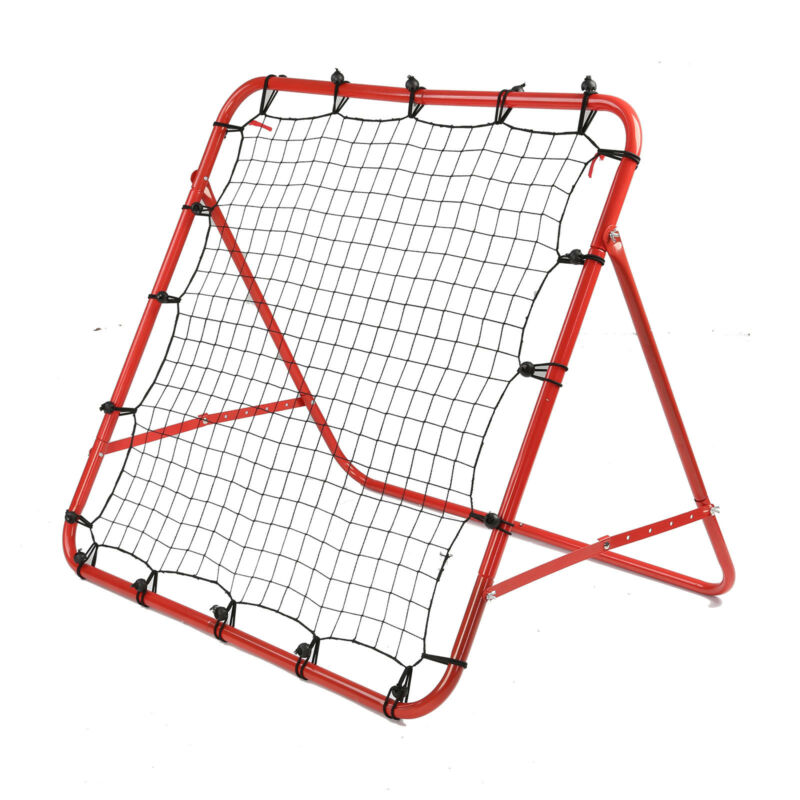 New Rebounder Net Kids Adults Football Training Aid Practice Adjustable 5