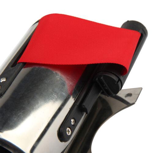 5M Rojo CinturóN Stanchion Barrera de Control Multitud Montaje Pared Retráctil 4