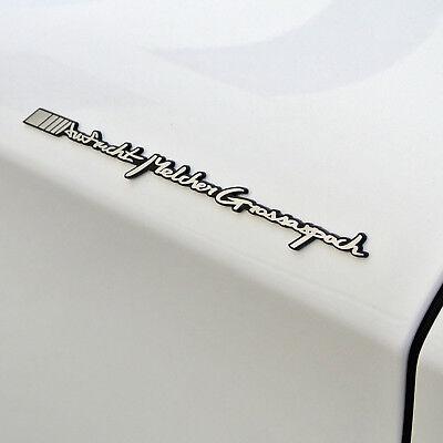 Griben Car Emblem Metal Chrome Pair 70138 Badge for Audi Quattro