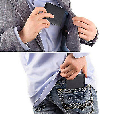 Gift Box For Men High-End Build RFID Blocking Trifold Bifold 11 Pocket ID Window 9
