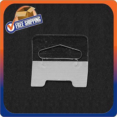 5000 Clear Self Adhesive Medium Duty Slot Hang Tab Tags 14Oz Limit Retail Hanger 3