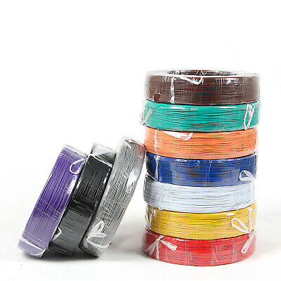 16awg - 30awg Flexible Electronic Wire UL1007 Stranded Cable 11 Colors Choose 4