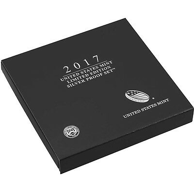 2017 United States Mint Limited Edition 8pc Silver Proof Set