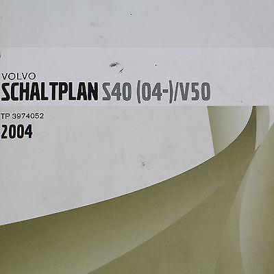 VOLVO S40 V50 Elektrik elektrische Schaltpläne Werkstatthandbuch ...