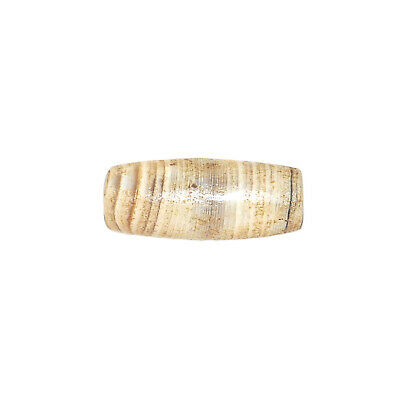 (2435) Bactrian Banded Agate Bead from China-Tibet,  唐朝 6