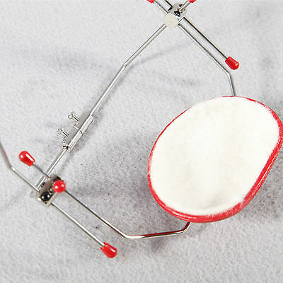 5pc Dental Orthodontic Adjustable Reverse-Pull Headgear Universal Instrument Red