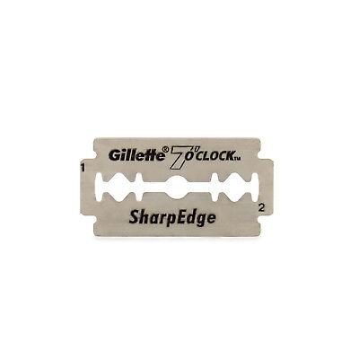 Barber Straight Cut Throat Shavette Blades Gillette 7 O' Clock Sharp Edge Tools