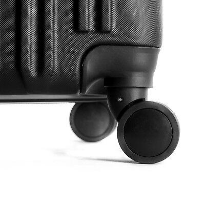 """4 Piece ABS Luggage Set Light Travel Case Hardshell Suitcase 16""""20""""24""""28"""" 6"""