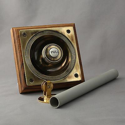 Brass Claverley Front Door Bell Pull 3