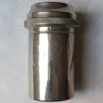 DREI-PFEIL MARKE - MAXIMUS antike Box für Spritzen und Nadeln Sterilisator WW2 10