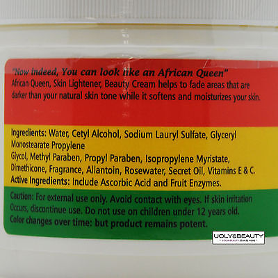 African Queen Gel for Lighter Brighter, and Smoother Skin 25 ml / 0.88 fl. oz. R.N.A. Power Radical New Age Cream 1.7oz