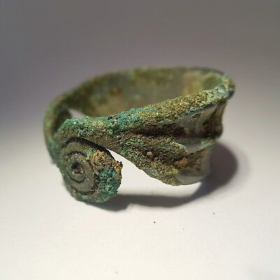 Bronze bracelet with spiral ends. Bronze Age 6