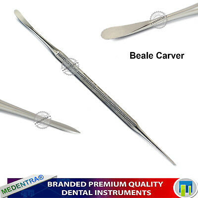 Dental Laboratory Wax Carving Modelling Tools Set Surgical Stainless Steel Knife 4
