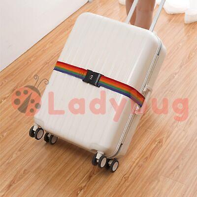 4x Travel Luggage Suitcase Bag Packing Secure Safe Strap Belt Password Lock 2M 2