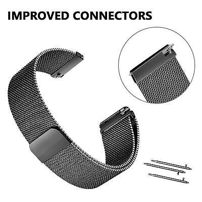 For Fitbit Versa Milanese Watch Band Strap Wrist Magnetic Stainless Steel Loop 9