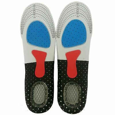 Orthotic Insoles for Arch Support Plantar Fasciitis Flat Feet Back & Heel Pain 2