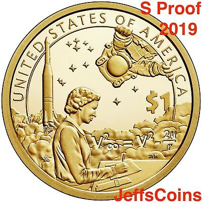 2019 PDS SACAGAWEA NATIVE AMERICAN Indians The Space Program P D S PROOF Dollars 5
