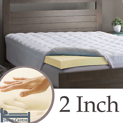 Lavish 100% Memory Foam Mattress Topper Orthopedic, Hypoallergenic + All Sizes 3